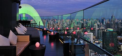Cenar con Bangkok a tus pies en el Red Sky