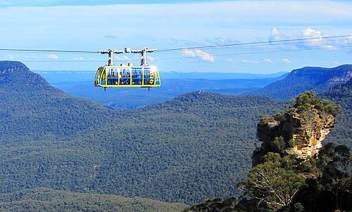 Las Montañas Azules de Australia