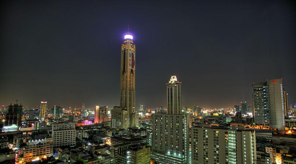 La Torre Baiyoke en Bangkok