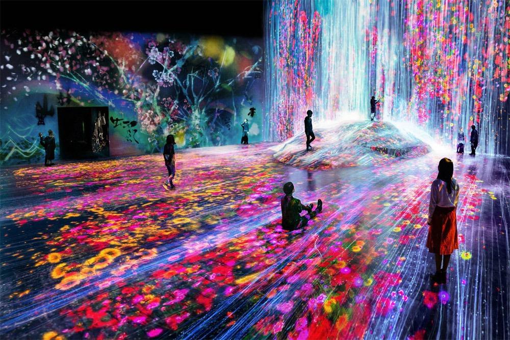 TeamLab Borderless: el Museo de Arte Digital del edificio Mori en Tokyo