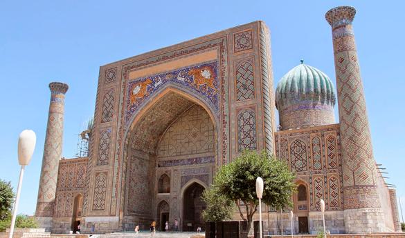7 lugares para un viaje a Uzbekistán espectacular