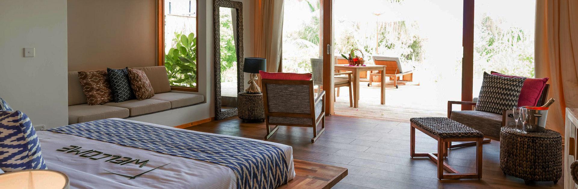 Kudafushi beach villa interior5