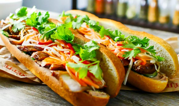 Comida vietnamita Banh Mi