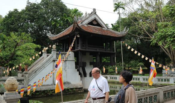 La pagoda del pilar en Hanoi