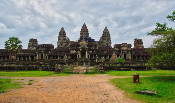 En ti viaje a Camboya, no puede faltar Angkor