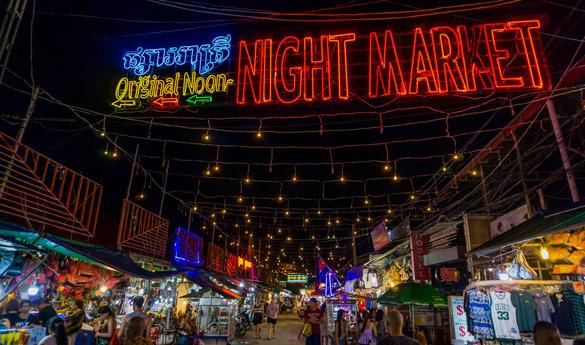Phom Penh de noche