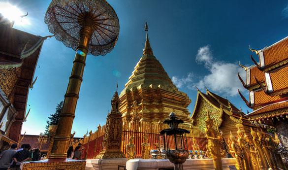 Chaing Mai Wat Phrathat Doi Suthep
