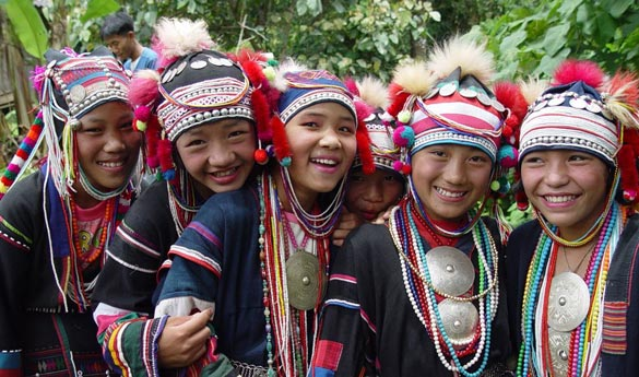 Chaing Rai 1 Tribu Akha