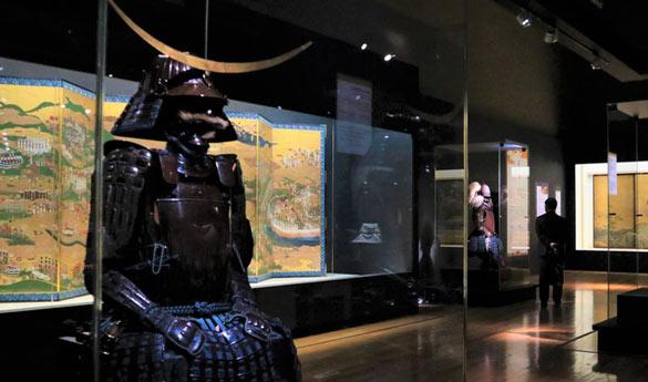 El museo nacional de Tokyo en Japón
