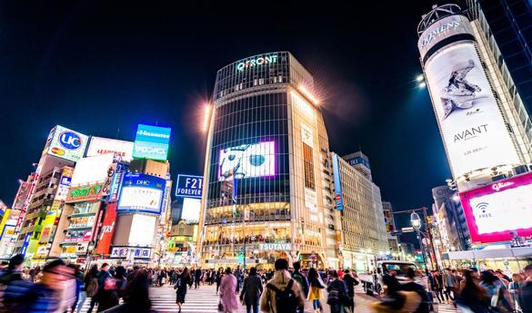 Cruce de Tokyo Shibuya