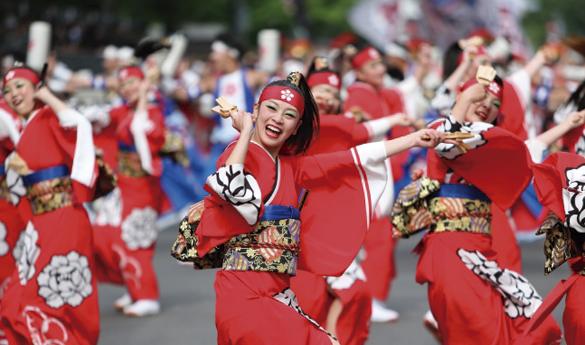 Festival Yosakoi Soran, el festival más grande de danzas en Japón