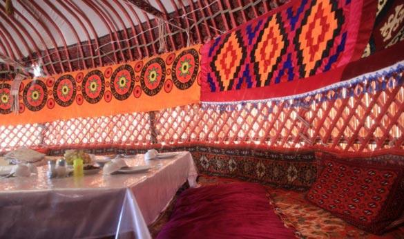 Yurta Uzbekistan