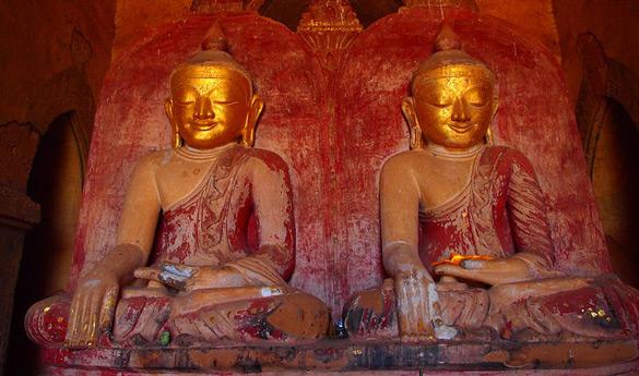 Bagan y la Pagoda Dhammayangyi en Myanmar