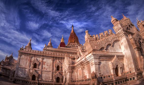 Bagan y el templo de Ananda Myanmar