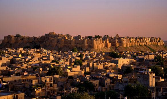 Visitar el templo de Jaisalmer en India