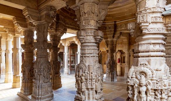 Templos de Jaisalmer en India