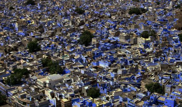 Ciudad de Jodhpur en India