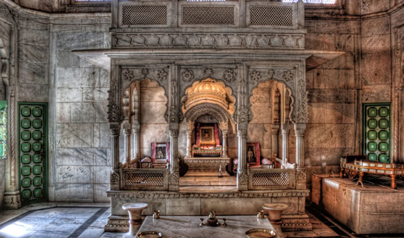 Jaswant thada Jodhpur India
