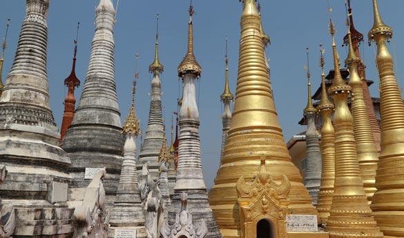 Bagan y La Pagoda Shwe Inn Thein Paya en Lago Inle