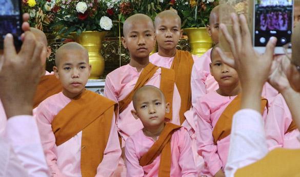 Mandalay en Myanmar