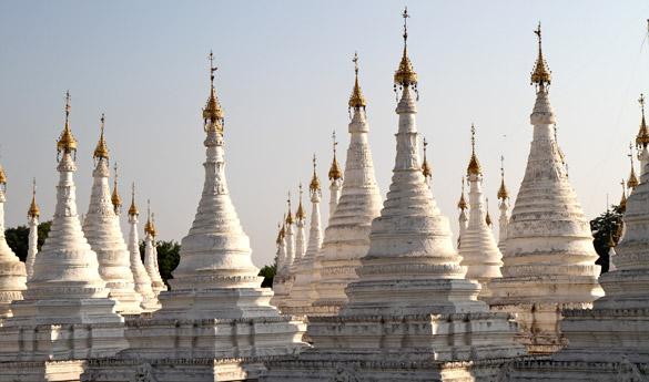 Mandalay Pagoda Kuthodaw