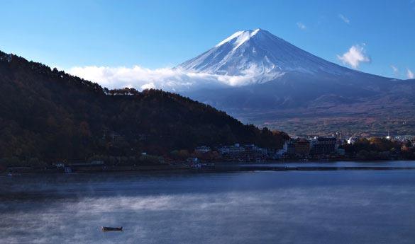 Monte Fuji en Japon