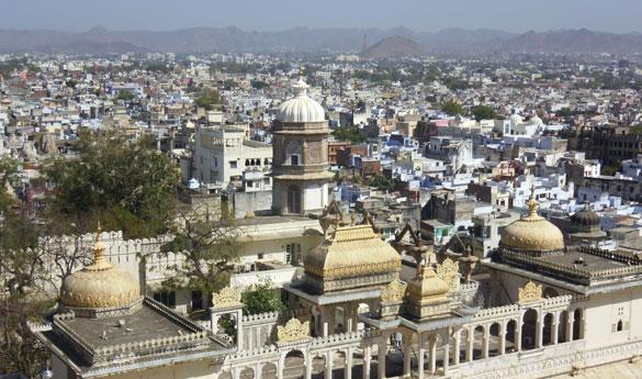 Udaipur Ciudad Blanca India