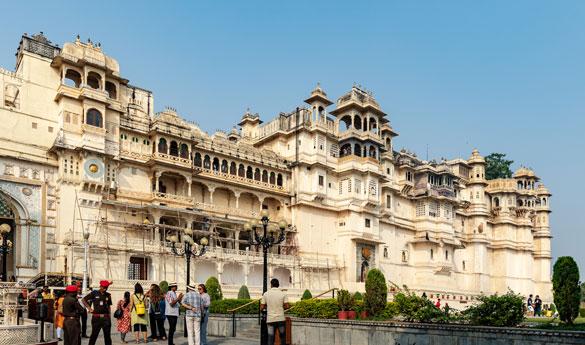 Udaipur Palacio Real