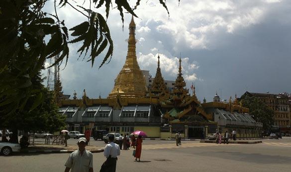 Pagoda Sule Myanmar Yangon
