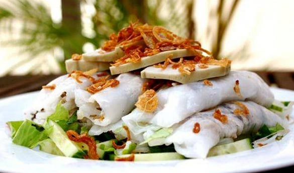 Banh Cuon plato tradicional vietnamita