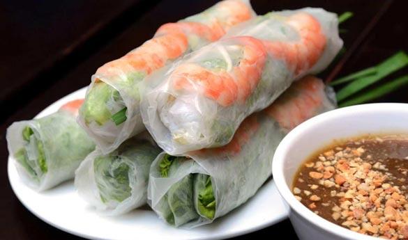 Goi Cuon plato tradicional vietnamita