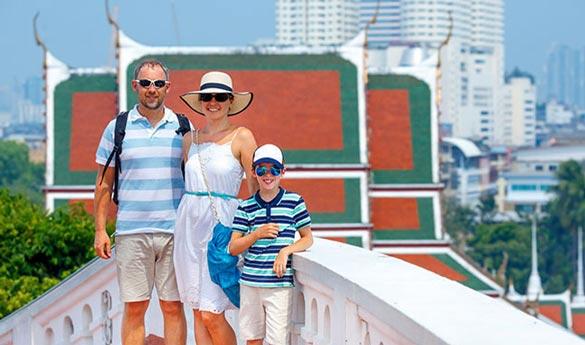 Viajar a Bangkok con niños