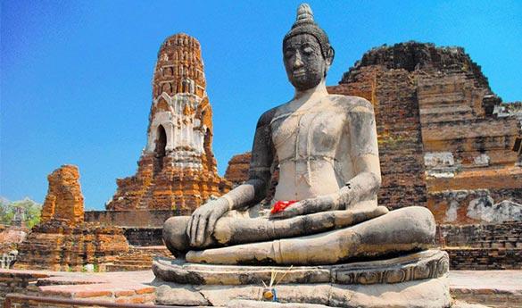 Visitar Ayutthaya en Tailandia