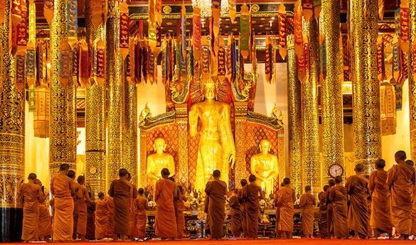 Templo Doi Suthep en Tailandia