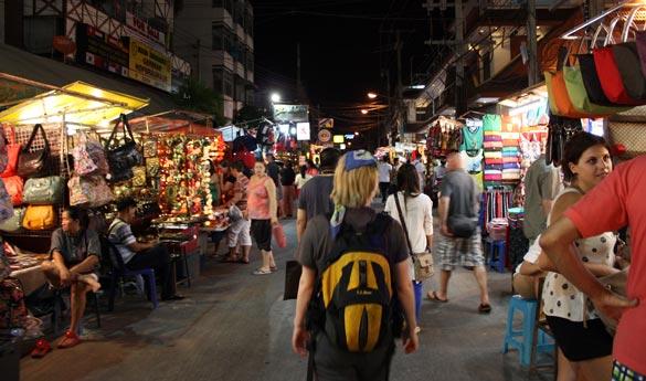 Chiang Mai Mercado Noc