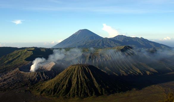 Monte bromo en Indonesia