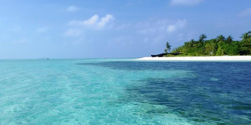 Isal Dhangethi en Maldivas