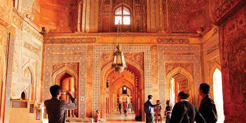 Fatehpur Sikri en la India