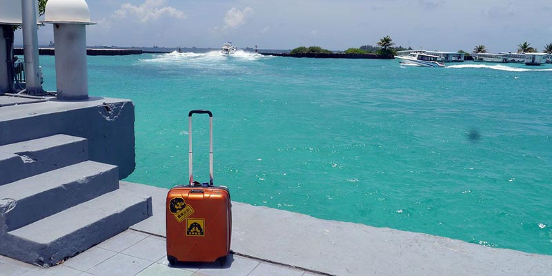 La isla Hulhumale en Maldivas