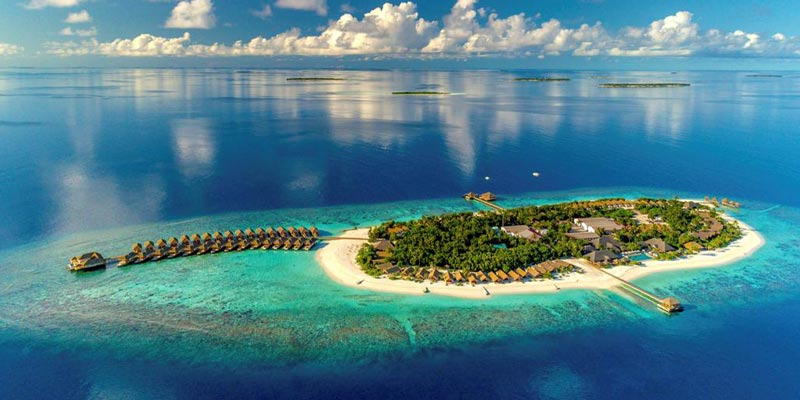 Isla Kusafushi en Maldivas