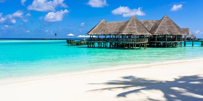 Isla Rannalhi en Maldivas