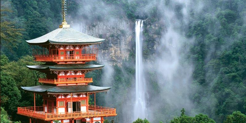 Nachi Taisha Japón en camino de Kumano Kodo