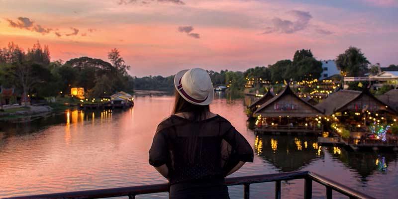 Provincia de Kanchanaburi en Tailandia