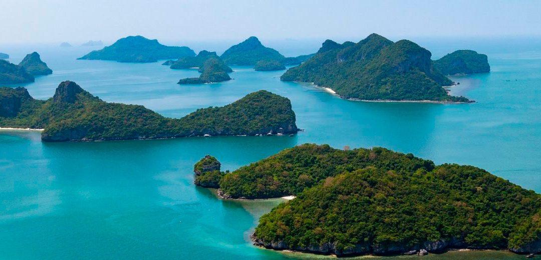 La isla de Koh Samui en Tailandia