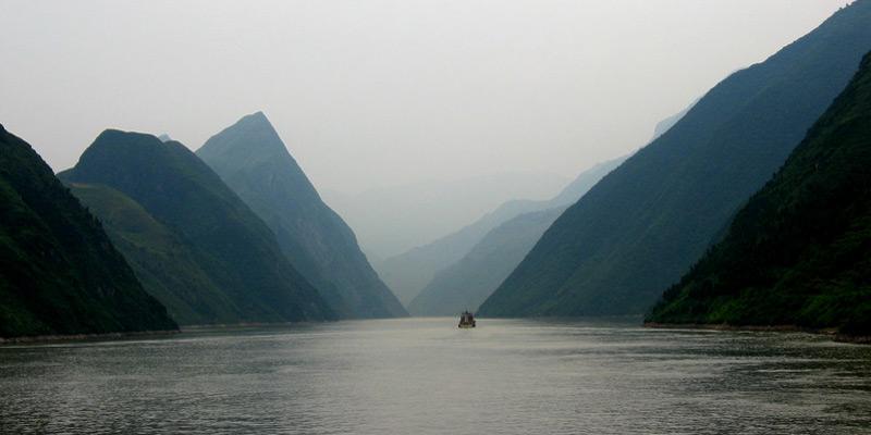 Las gargantas del Yangtze