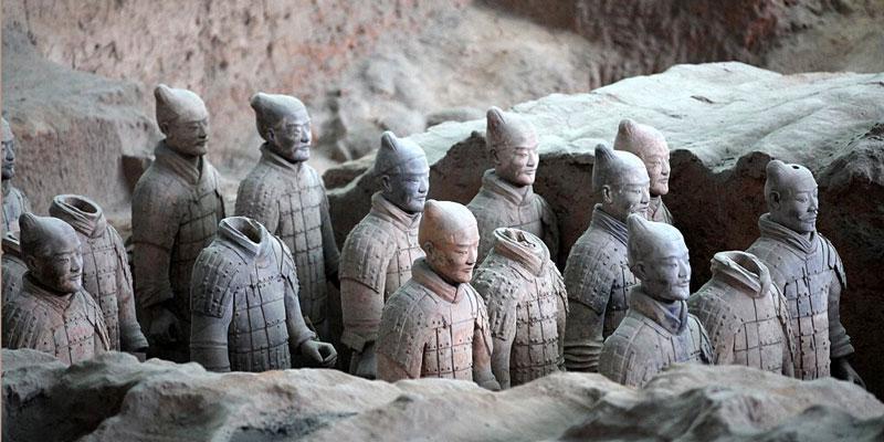 Los Guerrero de Terracota China