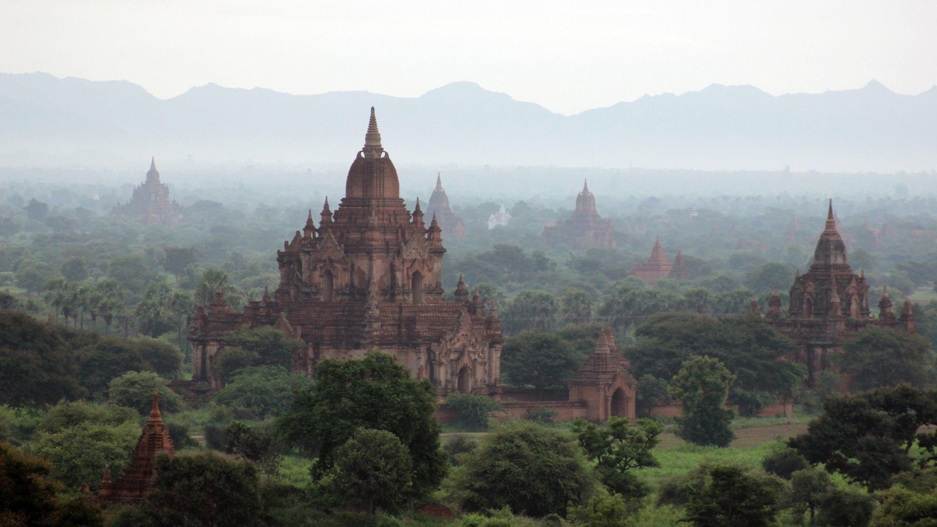 Descubre los templos de Myanmar