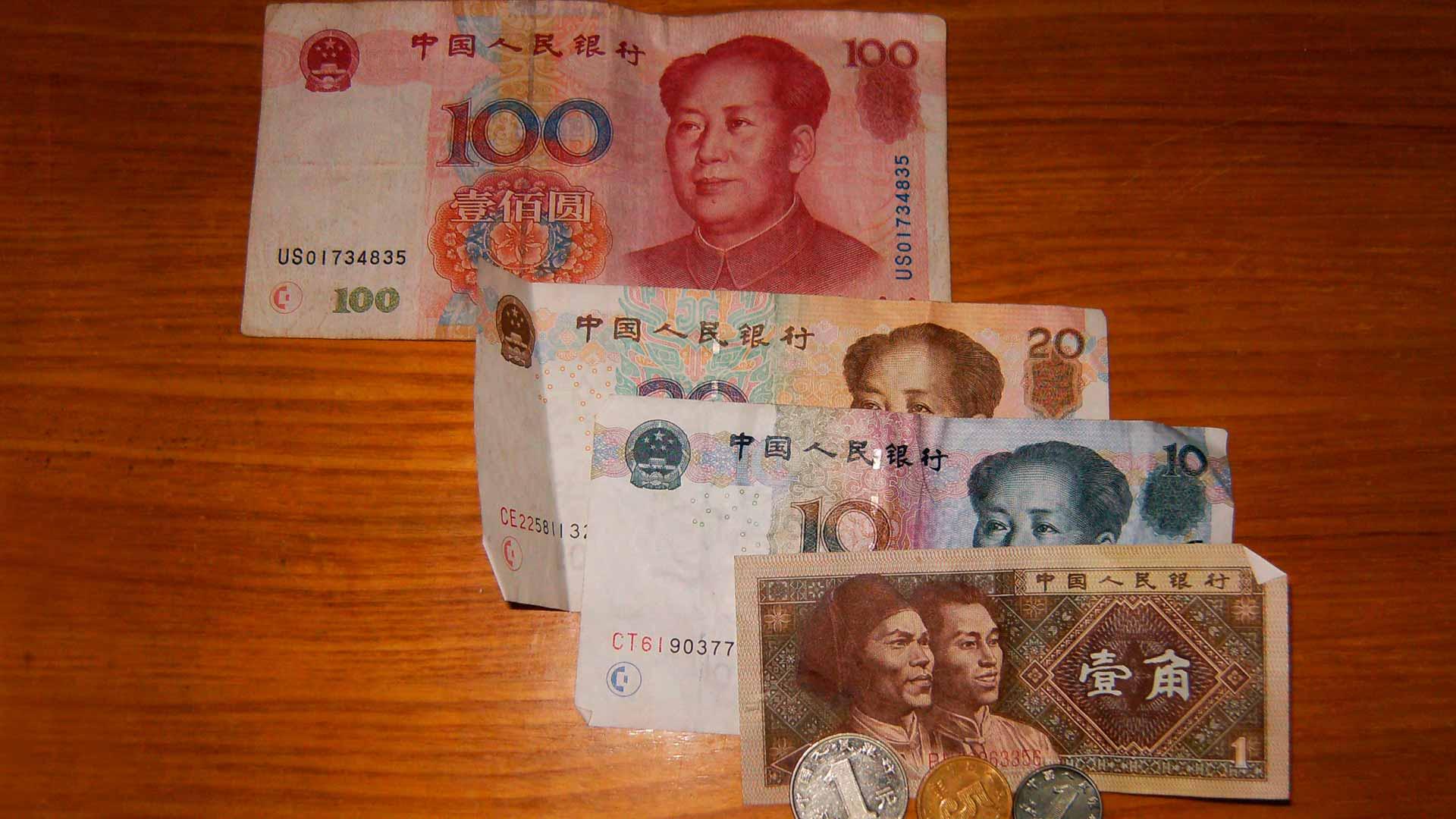 La moneda oficial del país es el Renminbi (RMB) o también llamado yuan (CNY)